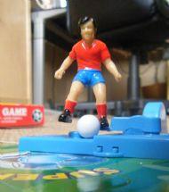 Kicking figure
