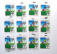 Footie Flckas clear packets