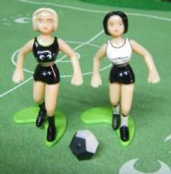 Girl Kick figures