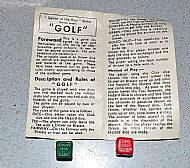 The golf game