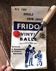 Frido balls adapter and repair kit