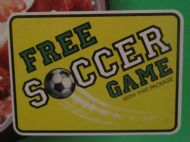 Free soccer game!