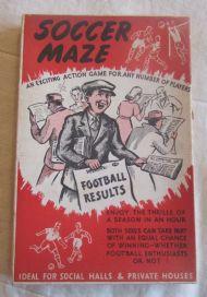 Soccer Maze box