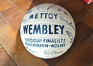 Mettoy 1960 cup final ball