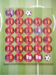 Milan team squad