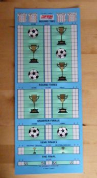 Cup tie chart
