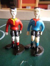 Fussball Spiel players