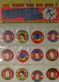 1970 World Cup stickers