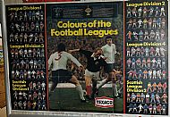 Texaco club colours poster