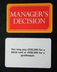 Playing card choice