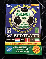 Gamester wc78 soccer game
