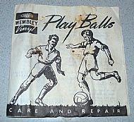 Wembley balls leaflet