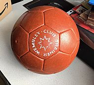 Mettoy Wembley training football