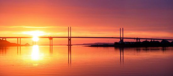 kesock bridge - picture by neil fraser