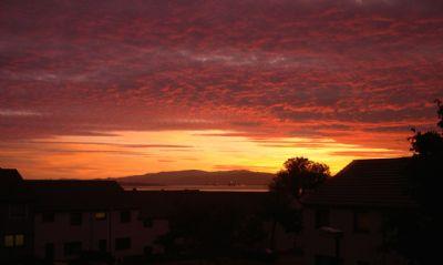 sunset - cromarty vortex style!