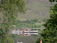 Waverley heading for Fort William (from Seafield House)