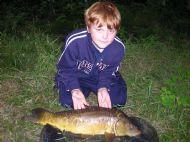 Matt with a carp