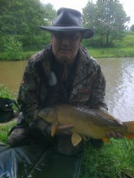 Jimmys first fly caught carp