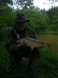 Hooks green carp