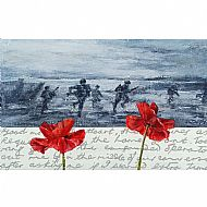 Remembrance Poppy 4 (Beach Landing)