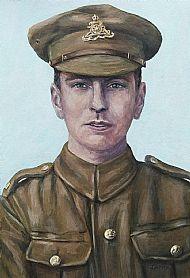 Soldier, Royal Artillery (Portrait 2)