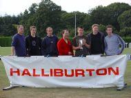 Halliburton League Male Winners 2003 - 4 in a row