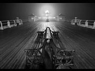 John R Simpson Award<br>Foggy Night, Cromer Pier