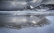 Stormy Beach, Norway