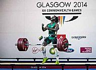 Francois Etoundi lifts Bronze