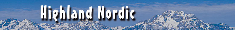 Cross Country Ski, telemark, nordic walk with Highland Nordic