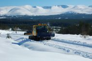 Cutting tracks above Glenmore