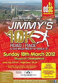 Jimmy 10km   18/3/2012