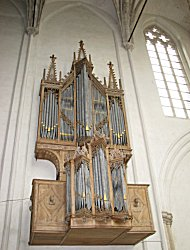 organ of the koorkerk in middleburg, the netherlands, thought to have been the last blokwerk organ in the netherlands, now avialable as vst virtual organ plugin