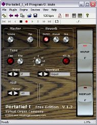 virtual organ company portatief i v1 freeware vst virtual pipe organ freeware screenshot