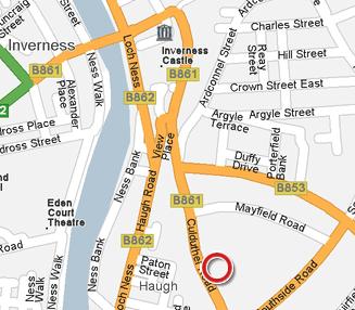 beaufort hotel location map