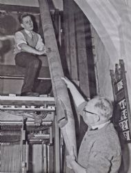 1960 The Refurbishing of the Organ.