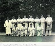 Annual Match Day at Hovingham c1950.
