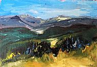 Hills Above Beauly