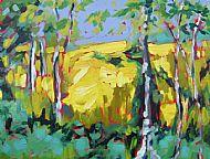 Field Through Birch