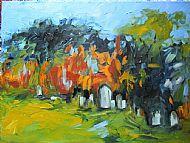 Kiltarlity Old Graveyard, Plein Air