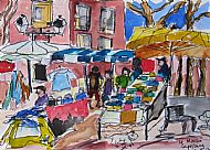 Market Day, Capestang