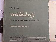 Marijke's muziekschrift
