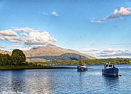 Loch Etive looking to Ben Cruachan by Paul Bailey