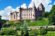 salmonquest salmon fishing holidays, activities, dunrobin castle