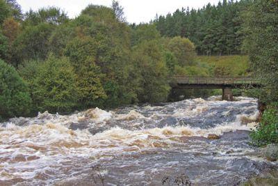 novar fishings, river alness, salmon fishing tips, very high water beat 2