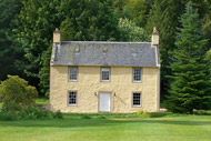 larch cottage self-catering, novar estate, evanton, ross-shire