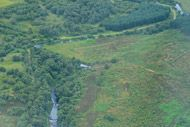 novar fishings, river alness, aerial photo beat 2