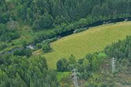 novar fishings, river alness, aerial photo beat 5