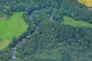 novar fishings, river alness, aerial photo beat 6