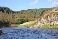 salmonquest salmon fishing packages, river oykel